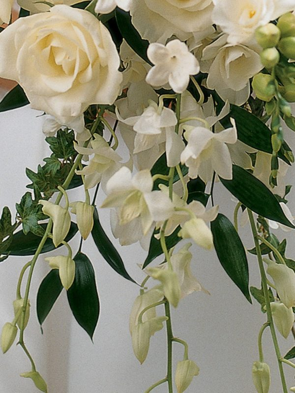 Ivory Rose & Orchid Scented Bridal Bouquet2
