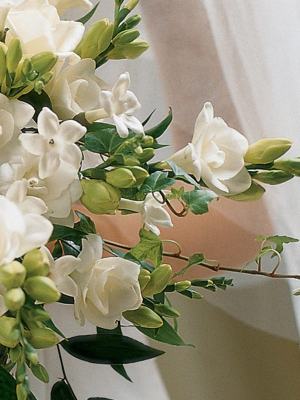 Ivory Rose & Orchid Scented Bridal Bouquet4