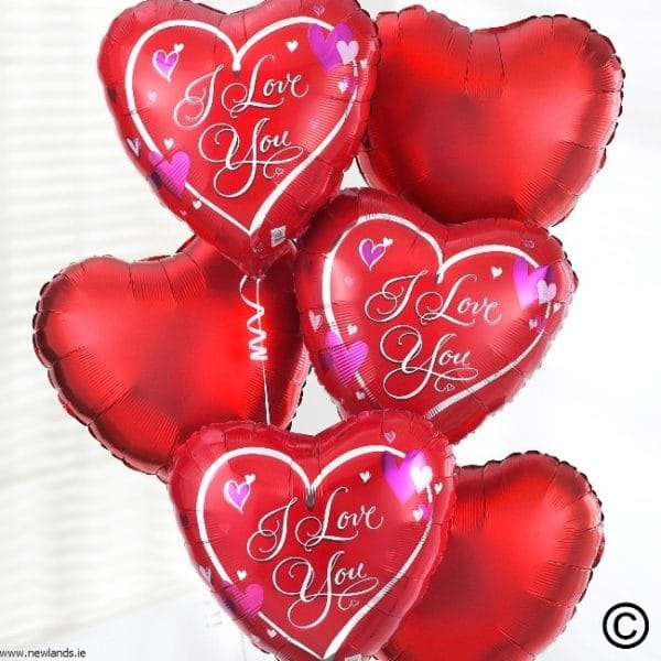 large-Add I Love You Balloon Bouquet