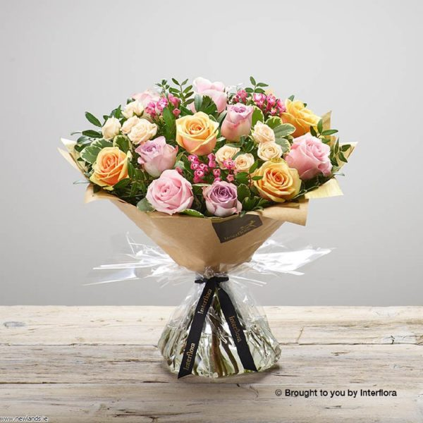 large-Darling Rose Hand-tied