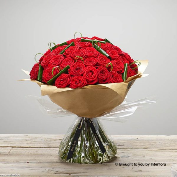 large-Devoted Rose Hand-tied