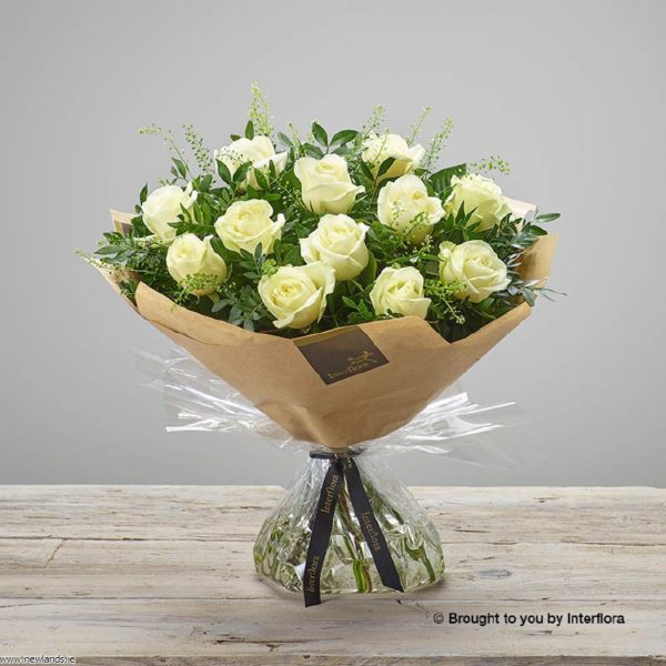 large-Pearly Rose Hand-tied