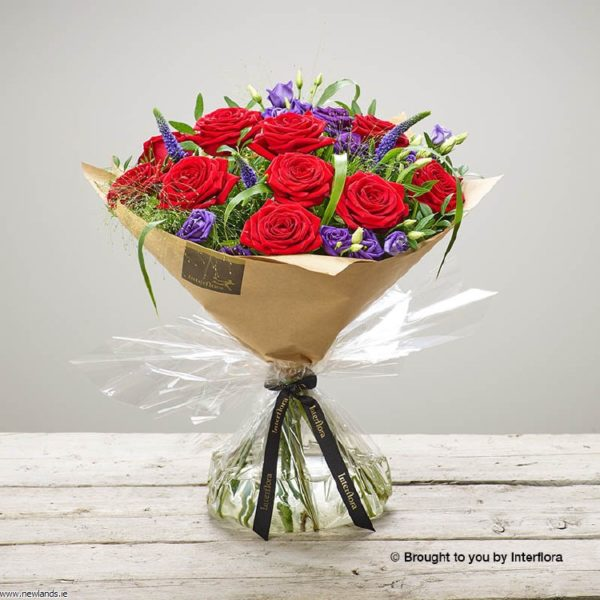 large-Red Rhapsody Hand-tied